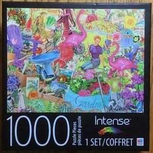 Spin Master 1000 Piece Intense Garden Puzzle